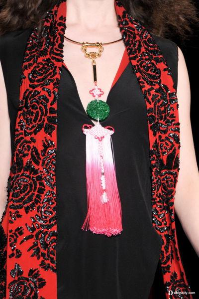 服装设计中国风荷花