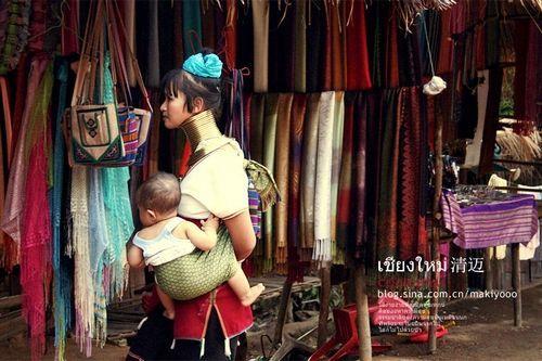 大部分生活在缅甸 图文来自COCO的新浪博客