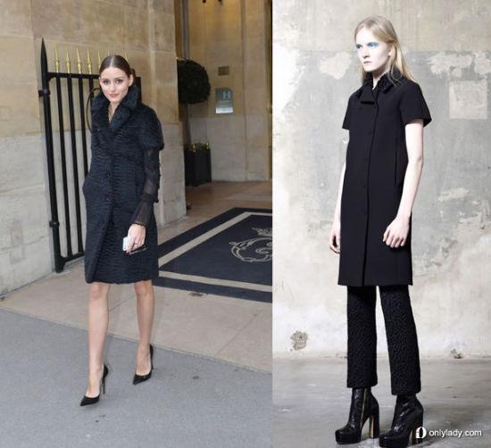 组图:奥莉维亚亮相巴黎多日无重复着装出现