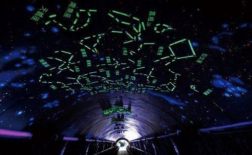 走进星空隧道 十二星座星光满天