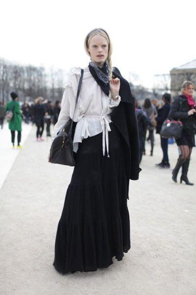 组图:复古全然不经意巴黎街头小雅悠然升