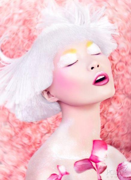 组图:彩妆让我们对世界的爱在脸庞上洋溢