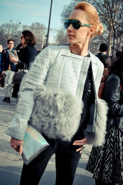 组图:零距离高清直击巴黎街头最佳穿搭潮人