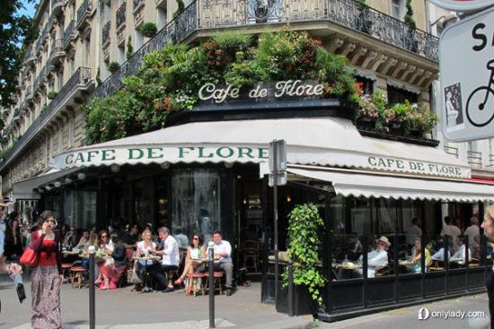 西安塞纳河法国餐厅,法国塞纳河左岸,法国塞纳河咖啡馆照片,高清图片