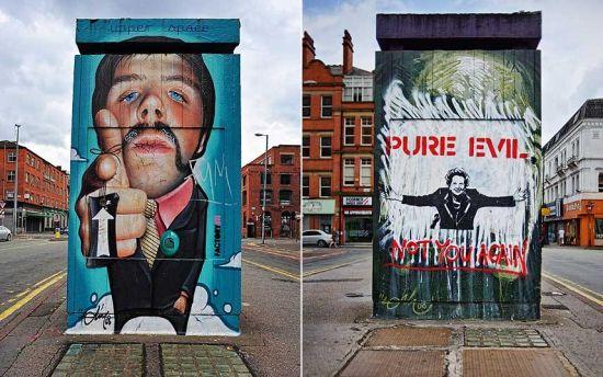曼彻斯特航空为旅客提供着该城市北部的街头艺术之旅