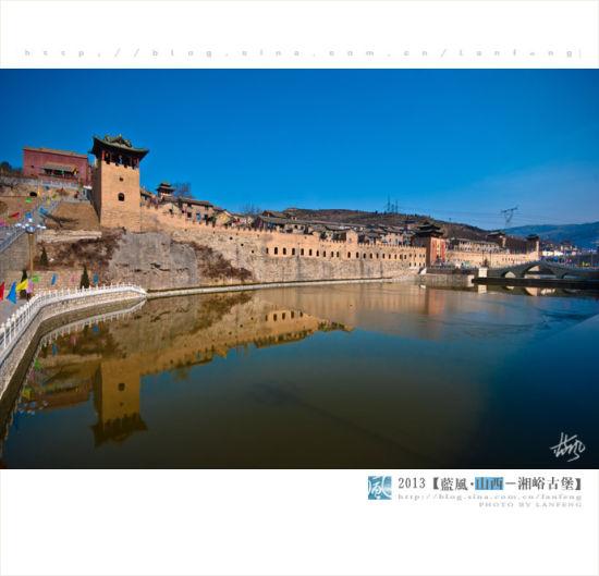 古城堡的护城河