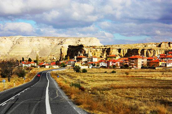 卡帕多奇亚的公路