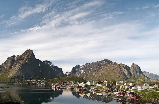 小渔村Mortsund