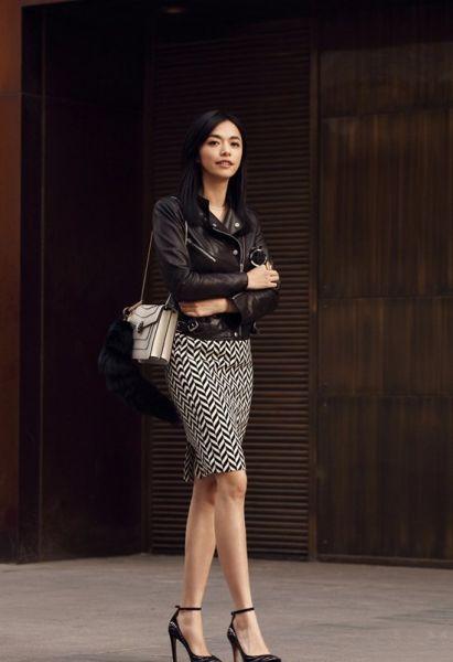 组图:内地女星时尚街拍值得学习的混搭范