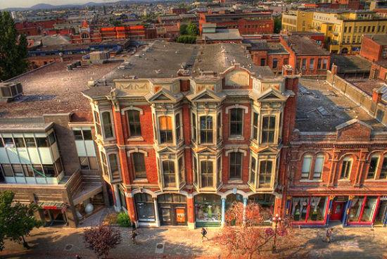 """维多利亚一直被评为""""北美十佳城市之一"""""""