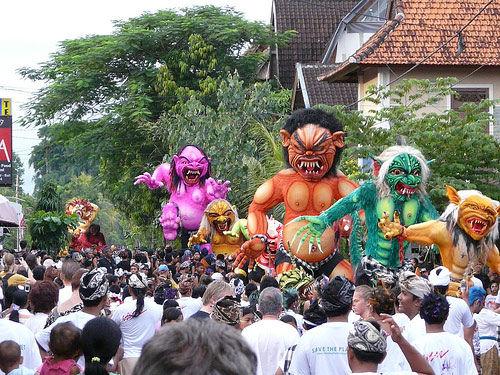 安宁日 (巴厘岛的新年)