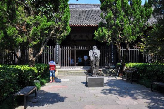 罗江南塔寺风景