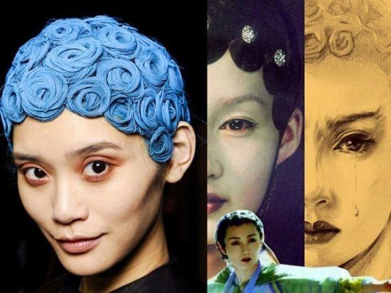 组图:来自动植物世界的发型灵感曼玉蛇头重现