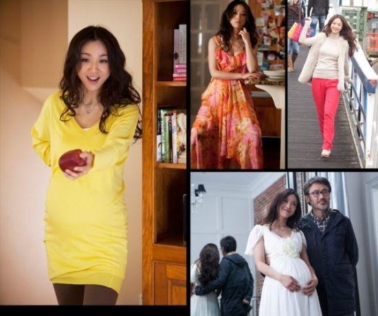 《北京遇上西雅图》,汤唯准妈妈的唯美着装