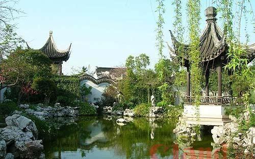 木渎古镇风景 图:zhpenguin的新浪博客