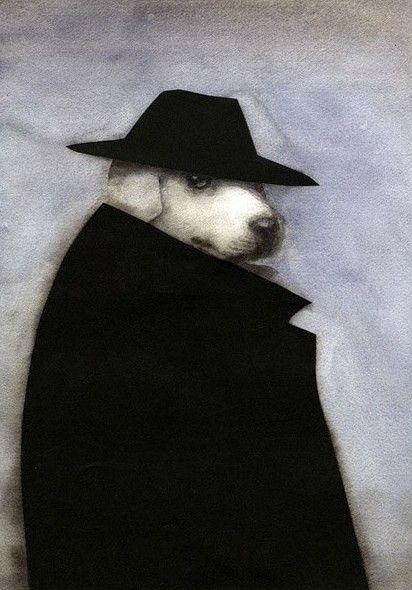 组图:穿西装戴礼帽 动物也要拗造型扮黑社会