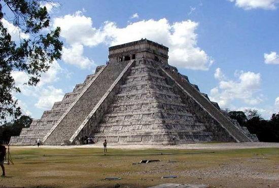 墨西哥的金字塔