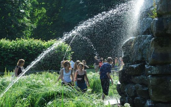海维尔城堡水迷宫