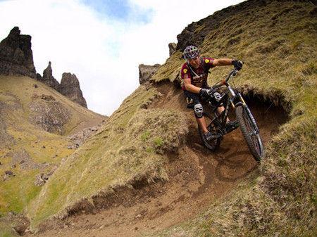 骑单车勇攀Torridon Hills
