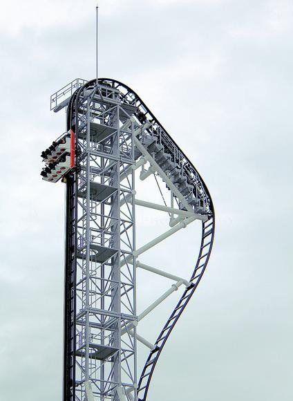 日本富士急高原乐园世界最陡过山车试运营