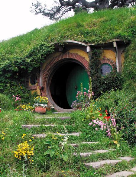 霍比特人洞穴小屋