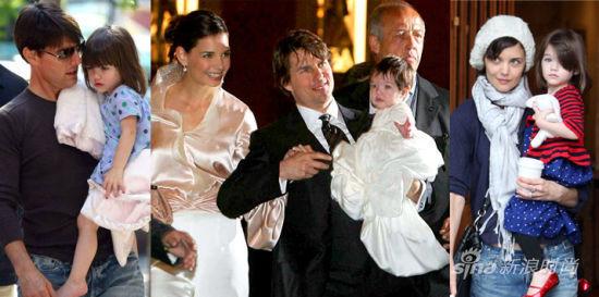 Suri是好莱坞大明星汤姆-克鲁斯(Tom Cruise)与凯蒂-赫尔姆斯(Katie Holmes)的千金女儿
