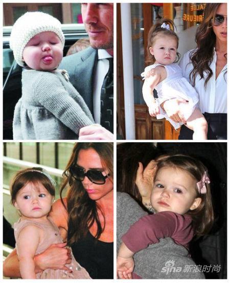 维罗利亚经常用可爱的发卡,发箍打扮自己的女儿