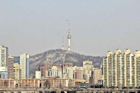 汉江的那一边是N首尔塔