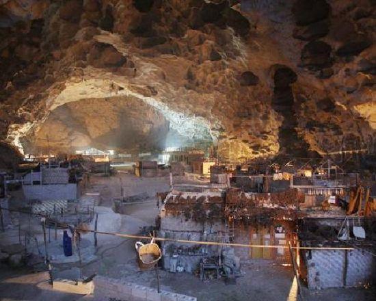 中国西南部洞穴学校