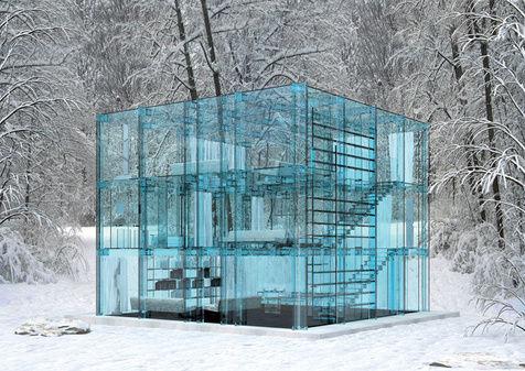 梦幻玻璃屋