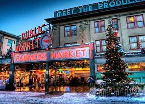 西雅图派克市场