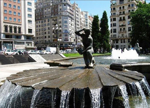 马德里街心广场