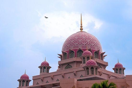 粉红清真寺又叫水上清真寺