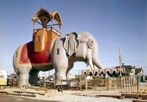 """马盖特市""""露西的大象"""""""