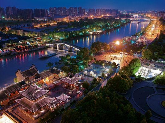 京杭运河杭州段