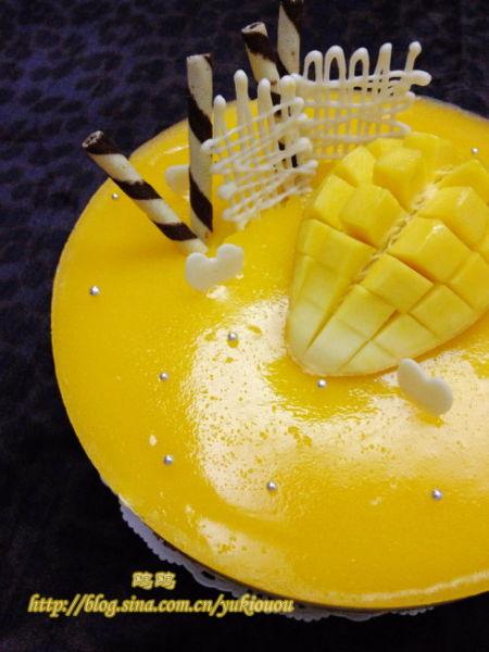 图详解制作过程:芒果流心慕斯蛋糕(组图)