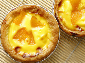 香浓芒果蛋挞