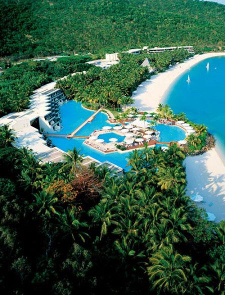 著名的五星级私密度假地海曼岛