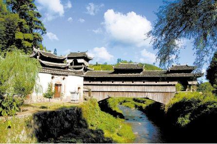 庆元月山如龙桥