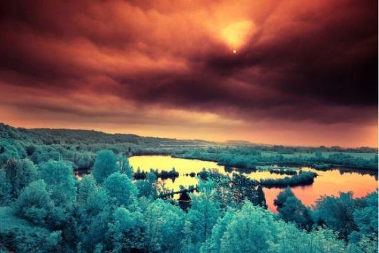 红外线下的世界