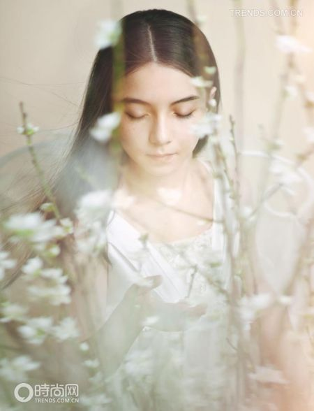 女人最美的白纱梦想轻盈之中的无忧无虑