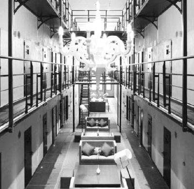 荷兰百年监狱变身创意酒店