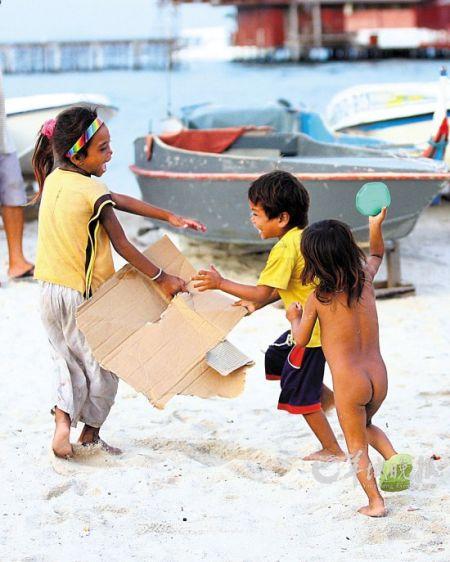 马布岛上的孩子