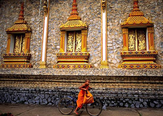 老挝 时间停在湄公河