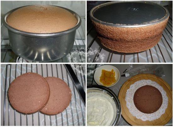 樱桃草编蛋糕