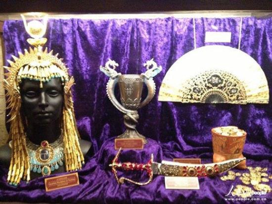 """""""迷离庄园""""里展出享利博士从全球搜集得来的罕有珍品收藏"""
