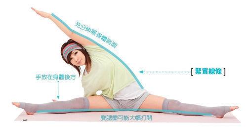 组图:瘦身达人郑多燕亲自传授5式瘦腿运动
