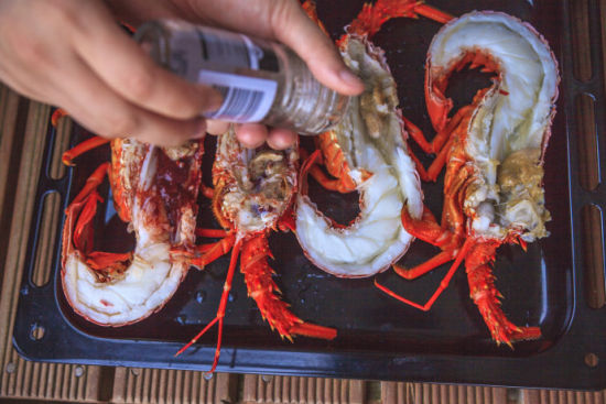 炬烤新西兰龙虾