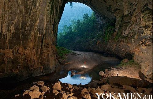 探险越南韩松洞
