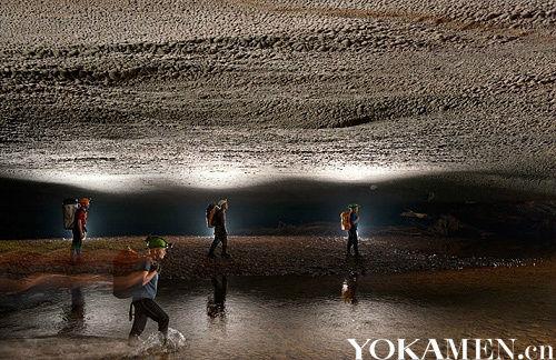 越南韩松洞 世界上最大的洞穴